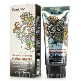 СС крем Farmstay Formula All-In-One Galactomyces CC Cream SPF 50+ PA+++, 50 г