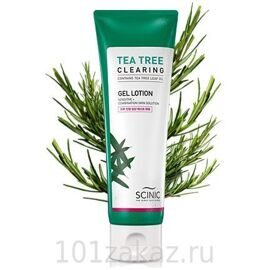 SCINIC Tea Tree Clearing Gel Lotion лосьон для проблемной кожи с маслом чайного дерева, 120 мл