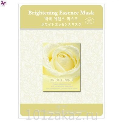 MJ Care Brightening Essence Mask осветляющая маска для лица, 1 шт