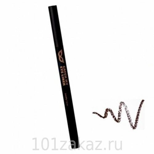 The Face Shop Lovely Me:Ex Catch My Eyeliner 02 Brown подводка для глаз, 0,25 г