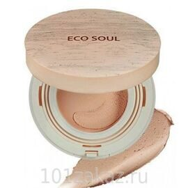 The SAEM Eco Soul Mousse Foundation SPF44 PA++ 01 Light Beige основа-мусс тонирующая, 12 г