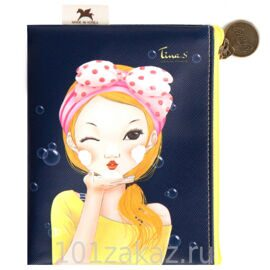 "Карманная косметичка ""BUBBLE Tina Mini Pocket Pouch"", 1шт."