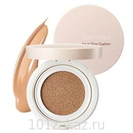 The SAEM Saemmul Aqua Glow Cushion SPF50+ PA+++ 02 Natural Beige основа-крем сияющая, 15 г