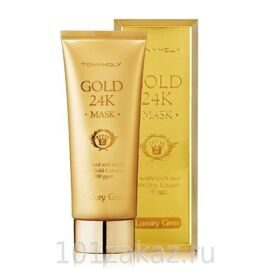 Tony Moly Luxury Gem Gold 24K Mask восстанавливающая маска с 24К золотом, 100 мл
