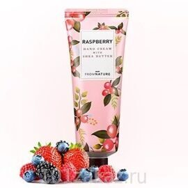 From Nature Hand Cream With Shea Butter Raspberry крем для рук с маслом ши Малина, 50 мл