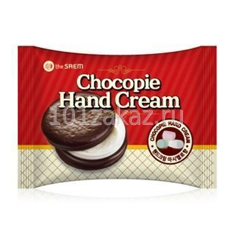 The SAEM Chocopie Hand Cream Marshmallow крем для рук (зефир), 35 мл