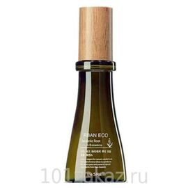 The SAEM Urban Eco Harakeke Root Ampoule Essence эссенция для лица с экстрактом новозеланского льна, 55 мл