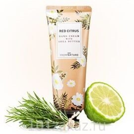 From Nature Hand Cream With Shea Butter Red Citrus крем для рук с маслом ши Красный апельсин, 50 мл