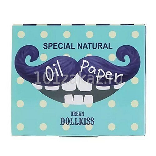 Baviphat Urban Dollkiss Special Natural Oil Paper матирующие салфетки для лица, 100 шт