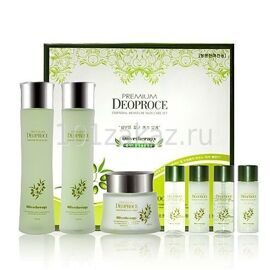Deoproce Premium Olivetherapy Essential Moisture Skin Care Set набор косметики для лица с маслом оливы
