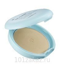 The Face Shop Oil Clear Smooth & Bright Pact V201 Apricot Beige SPF30 PA++ компактная пудра для гладкости и сияния кожи, 9 г