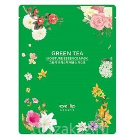 Eyenlip Green Tea Moisture Essence Mask тканевая маска для лица с экстрактом зеленого чая, 1 шт