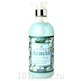 Lunaris Body Wash Acacia гель для душа с экстрактом акации, 750 мл