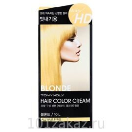 Tony Moly Make HD Hair Color Cream 10L Blonde крем-краска для волос