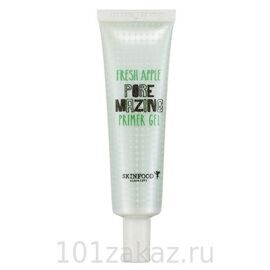 SkinFood Fresh Apple Pore Mazing Primer Gel праймер-гель для лица с экстрактом яблока, 30 г