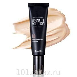 Lioele Beyond The Solution BB Correct A Natural Skin Tone ББ крем для проблемной кожи, 50 мл