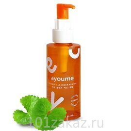 Ayoume Bubble Cleanser Mix Oil масло для лица очищающее, 150 мл
