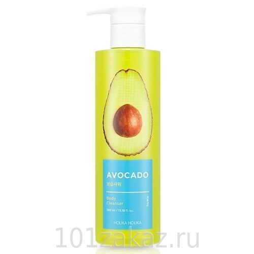 Holika Holika Avocado Body Cleanser гель для душа с авокадо, 390 мл