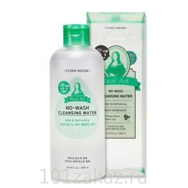 Etude House Real Art No Wash Cleansing Water мицеллярная вода, 300 мл