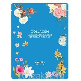 Eyenlip Collagen Moisture Essence Mask тканевая маска для лица с коллагеном, 1 шт