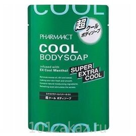 Pharmaact Super Extra Cool Menthol гель для душа с ментолом, 350 мл