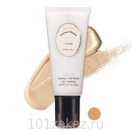 Etude House Precious Mineral BB Cream Cotton Fit SPF30/PA++ W24 Honey Beige минеральный BB крем, 60 г