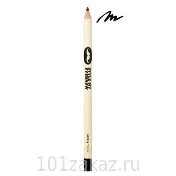 The Face Shop Lovely Me:ex Style My Eyebrow 04 Black карандаш для бровей, 1,8 г