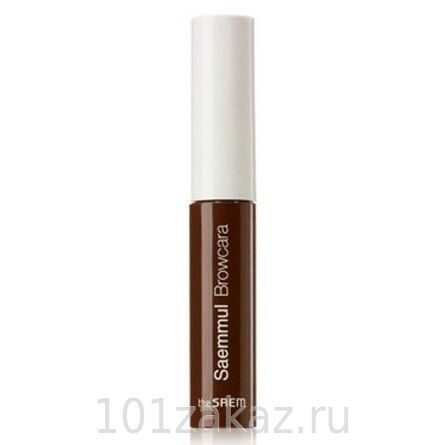 The SAEM Saemmul Browcara 02 Red Brown тушь для бровей, 4,5 г