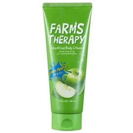 Крем для тела яблоко – Daeng Gi Meo Ri Farms Therapy Sparkling Body Cream Green Apple 200ml