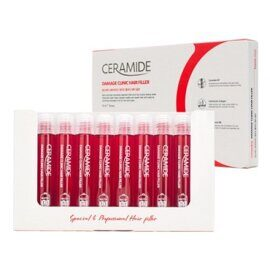 Филлер для волос с керамидами. FarmStay Ceramide Damage Clinic Hair Filler 10 pcs.