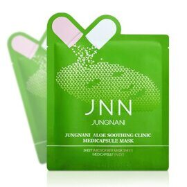 Маска тканевая JNN с алоэ / JNN Jungnani Aloe Soothing Clinic Medicapsule Mask