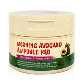 Пады с эссенцией Авокадо. Eyenlip Morning Avocado Ampoule Pad.