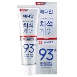 Зубная паста Median отбеливающая / Median Toothpaste White Dental IQ 93% 120g