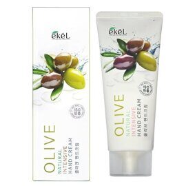 Крем для рук «Олива» — Ekel Natural Intensive Hand Cream Olive 100g