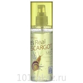 FarmStay Гель-мист для лица с экстрактом улитки / FarmStay It's Real Gel Mist Escargot 120ml