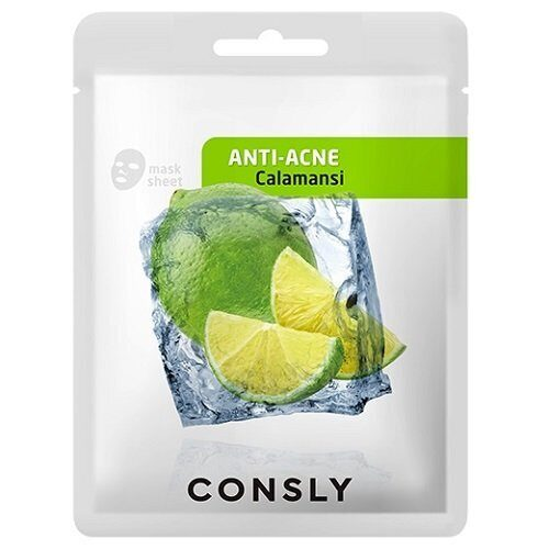 Тканевая маска с экстрактом каламанси – Consly Calamansi Anti-Acne Mask Pack