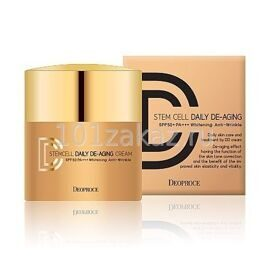 ДД крем маскирующий. Deoproce Stem Cell Daily De-Aging Cream #23 Natural Beige.