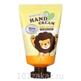 Крем для рук с маслом ши и розой. Rainbow SoC Hand Cream Shea Butter Rose 35g.