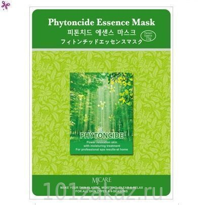 MJ Care Phytoncide Essence Mask маска для лица с фитонцидами, 1 шт