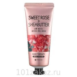Echoice Romantic Rose & Shea Butter Hand Therapy крем для рук с экстрактом розы и маслом Ши, 60 г