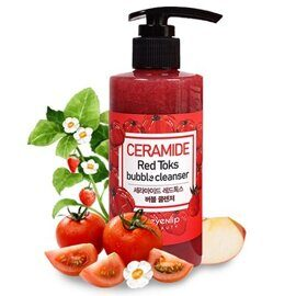Пенка для умывания с керамидами – Eyenlip Ceramide Red Toks Bubble Cleanser 200ml