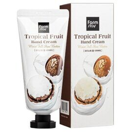 Крем для рук с маслом ши – FarmStay Tropical Fruit Hand Cream Moist Full Shea Butter 50ml