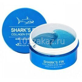 Patch Fetch Патчи для глаз с коллагеном плавника акулы / Shark's Fin Collagen Eye Patch