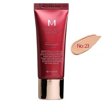 ББ крем тональный — Missha M Perfect Cover BB Cream №23 Natural Beige SPF42 PA+++ 20ml