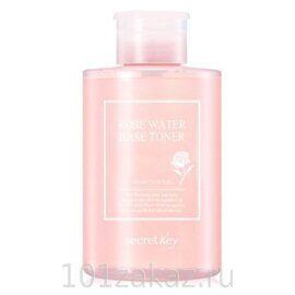 Тонер для лица с экстрактом розы – Secret Key Rose Water Base Toner Secret Key 550ml
