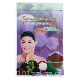 ISME Rasyan Mangosteen Peel Powder 100% натуральная порошковая маска-скраб анти-акне для лица из кожуры мангустина, 20 г