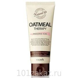 Calmia Пилинг-гель для лица с экстрактом овса / Calmia Oatmeal Therapy Peeling Gel 100ml