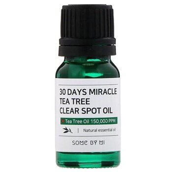 Масло для проблемной кожи – Some By Mi 30 Days Miracle Tea Tree Clear Spot Oil 10ml