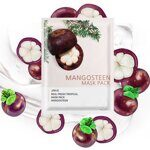Маска тканевая для лица «Мангостин». Jungnani Real Fresh Tropical Mask Pack Mangosteen.