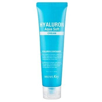 Гиалуроновый крем для лица – Secret Key Hyaluron Aqua Soft Cream 70g